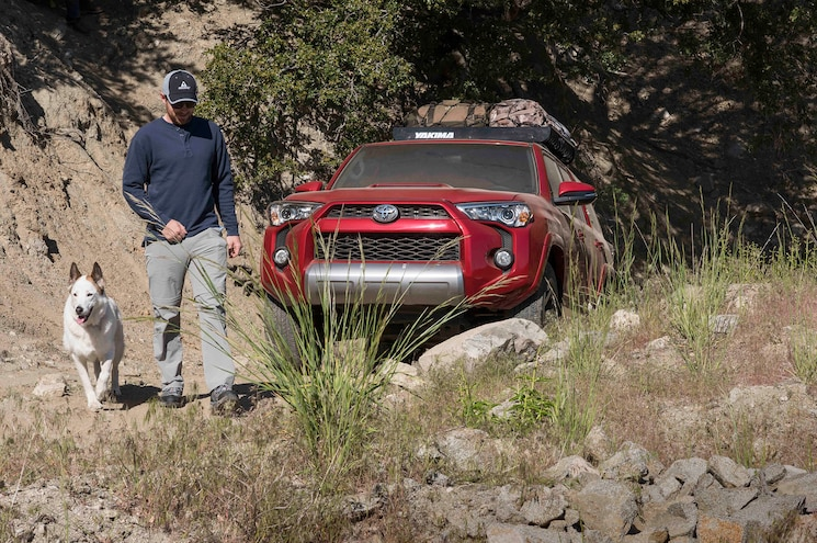 2017 Toyota 4Runner TRD Off Road Premium Front End
