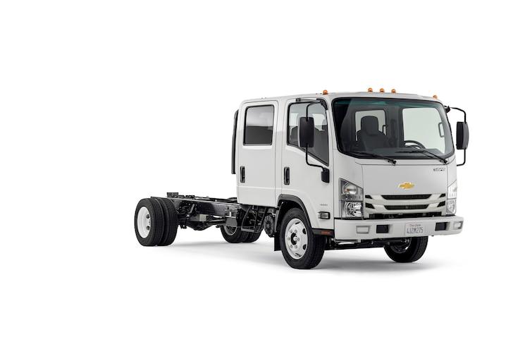 General Motors and Isuzu Collaborate on Chevrolet Medium-Duty Truck