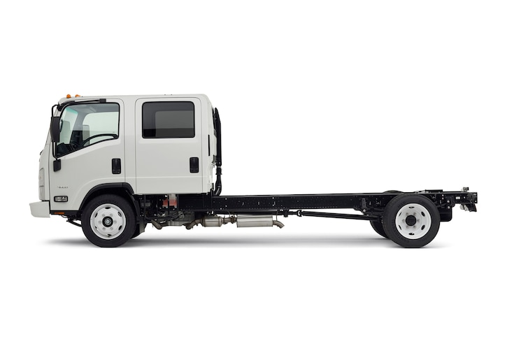2016 Chevrolet 4500 Low Cab Forward Side View