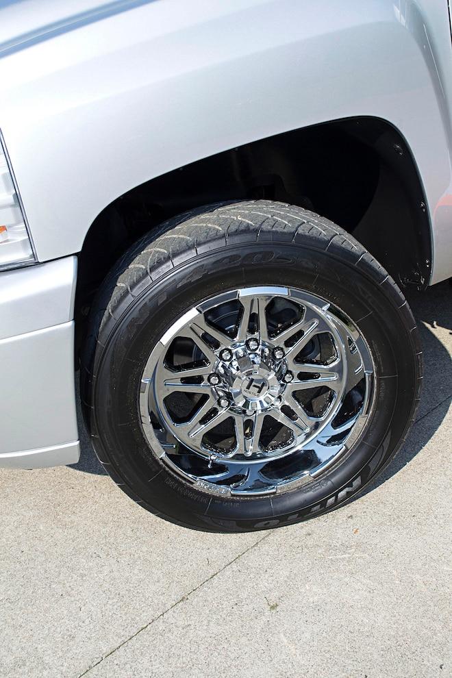 Chevy Silverado Zack Wheels And Tires