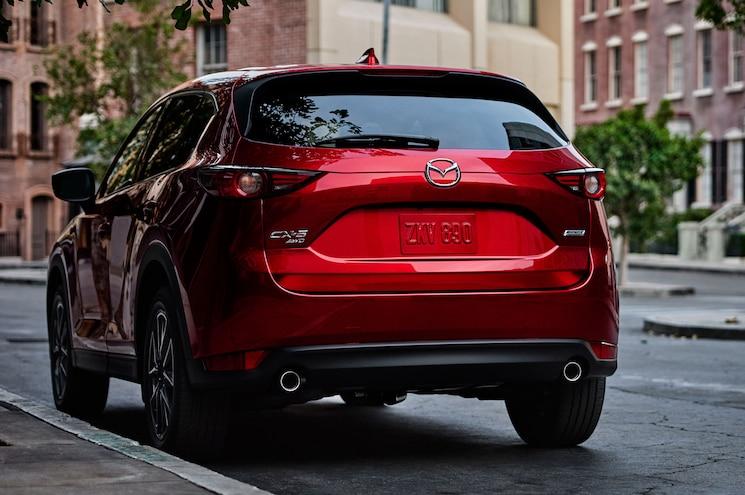 2018 Mazda Cx 5 Rear View