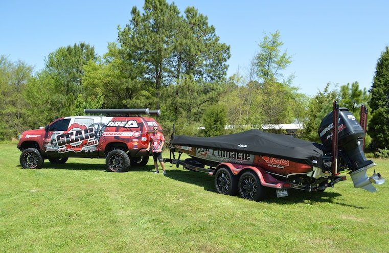 Hauling Boats For The Bassmaster Elite Series