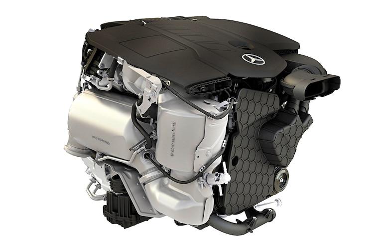 Mercedes Benz Om 654 Front Exhaust Side