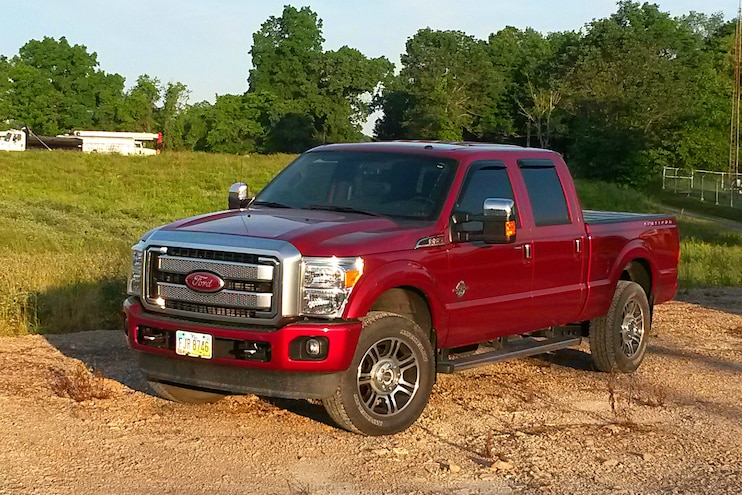 Readers Rides Diesel Ford Front Driver Side
