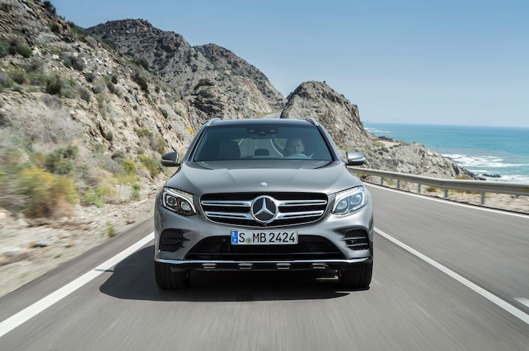 2016 Mercedes Benz GLC Class 4Matic Front End In Motion