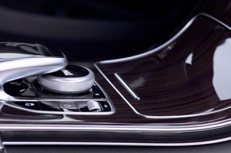 2016 Mercedes Benz Glc Teaser Interior Comand Controller