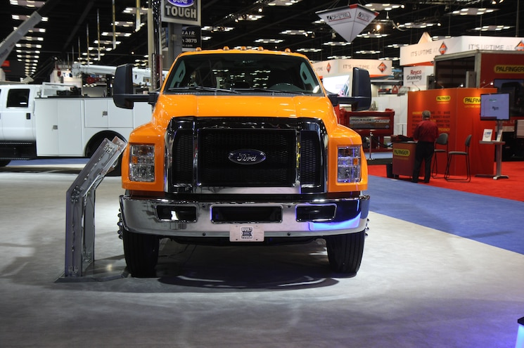 Ford F 750 Chassis Hauler Configuration Front View