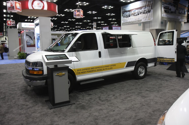 2015 Chevrolet Express With Pop Out Bodyside Panels