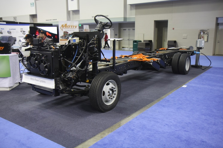 Ford F 59 All Electric Chassis