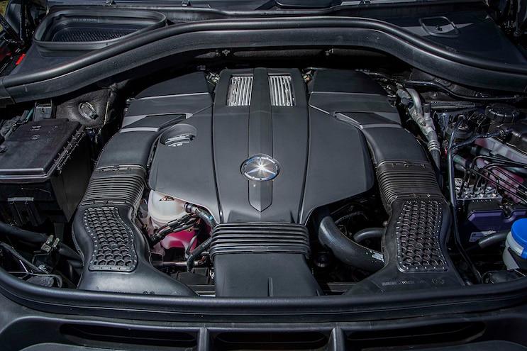 2017 Mercedes Benz GLS Engine