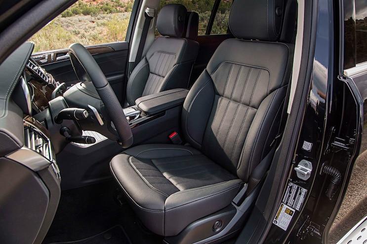 2017 Mercedes Benz GLS Seats