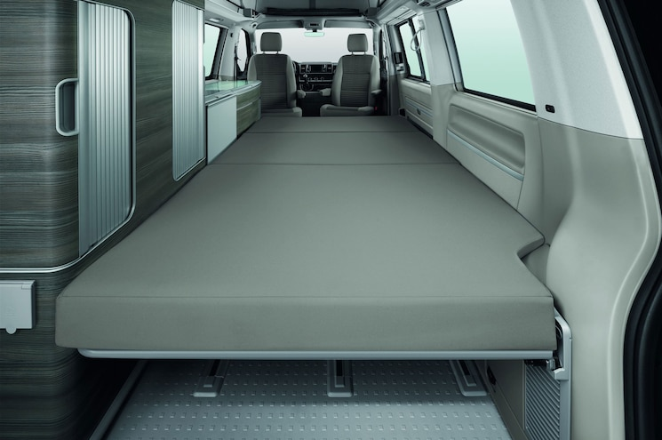 2016 Volkswagen T6 California Interior Bed