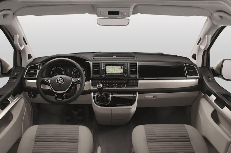 2016 Volkswagen T6 California Interior Dashboard