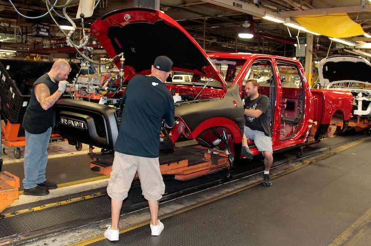 2015 Ram 1500 Rebel Assembly Line