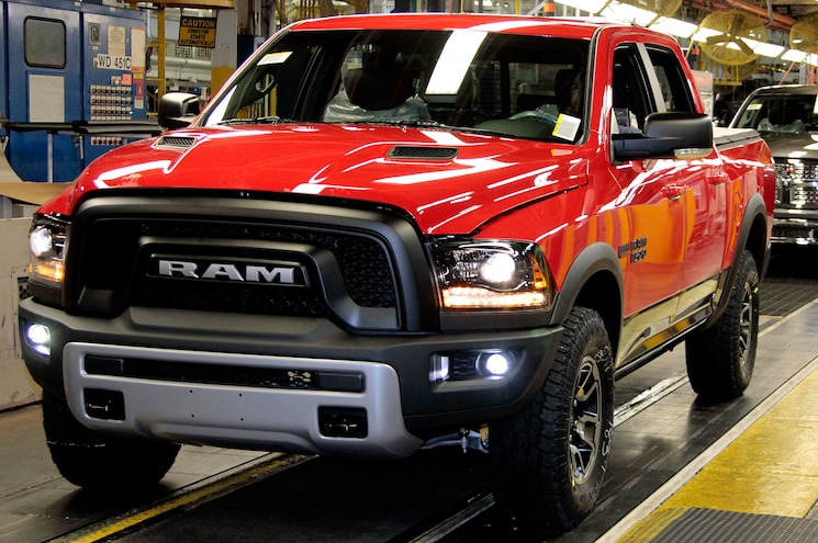 2015 Ram 1500 Rebel Rolls Off Line in Warren
