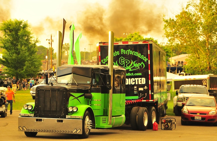 2015 TS Performance Outlaw Diesel Drags Sled Pull Event 016
