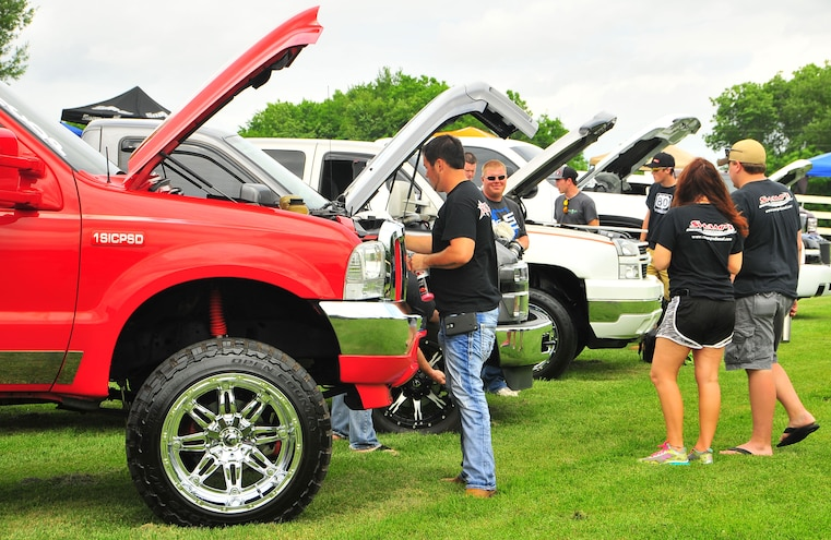 2015 TS Performance Outlaw Diesel Drags Sled Pull Event 005