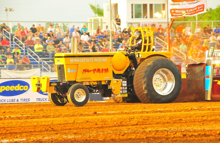 2015 TS Performance Outlaw Diesel Drags Sled Pull Event 025