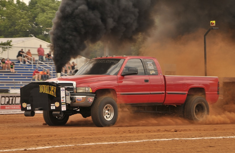 2015 TS Performance Outlaw Diesel Drags Sled Pull Event 017