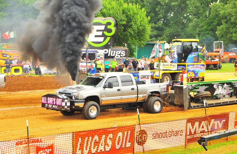 2015 TS Performance Outlaw Diesel Drags Sled Pull Event 030