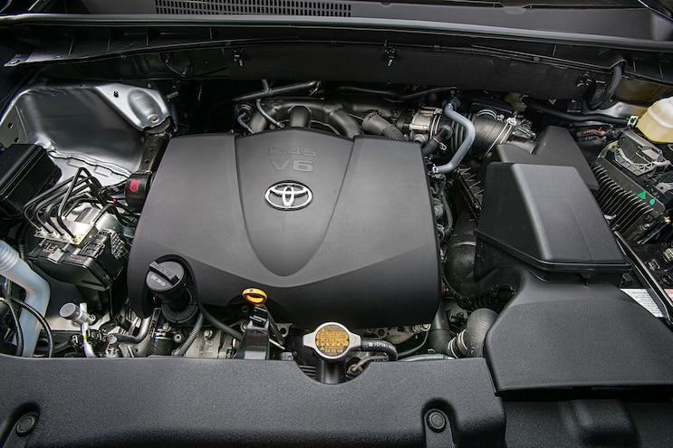 2017 Toyota Highlander Xle Awd Engine