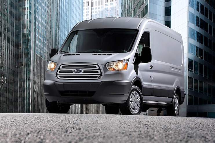 Ford Transit Drive Commercial Front