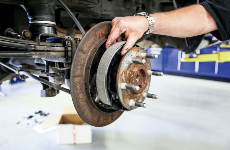 Parking Brake Shoe Replacement