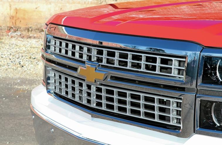 2014 Chevy Silverado Retro Mallet Super10 Custom Grille