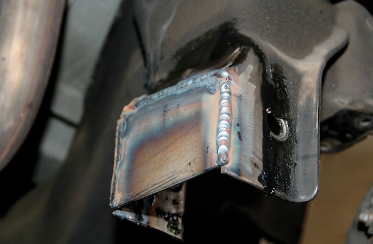 Plate Welded In Place