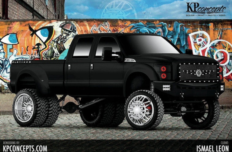 2015 Ford F 350 Rendering