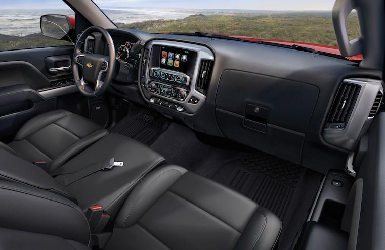 2015 Chevy Silverado Interior