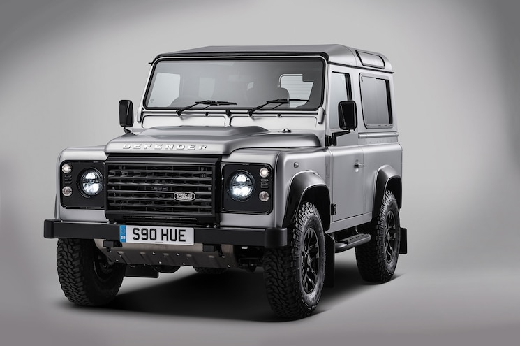 Land Rover Creates Special Defender to Celebrate Two Millionth SUV