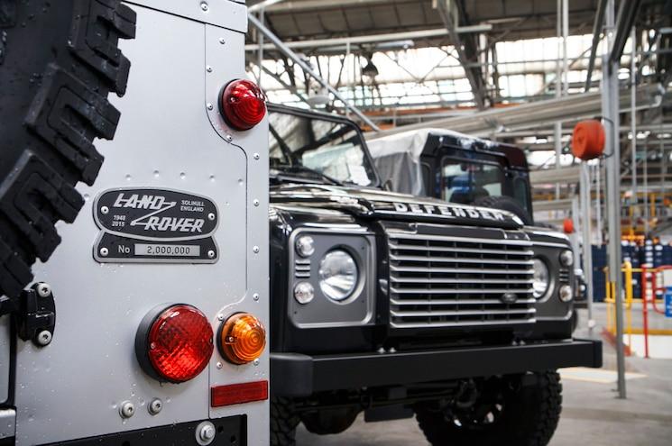 Land Rover Defender 2 Million Rear End