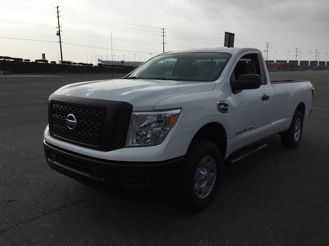 Truck Trend 2017 Pickup Truck Of The Year Nissan Titan Xd Regular Cab
