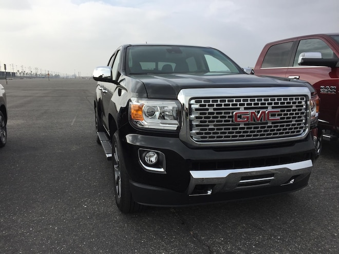 Truck Trend 2017 Pickup Truck Of The Year Gmc Canyon Denali