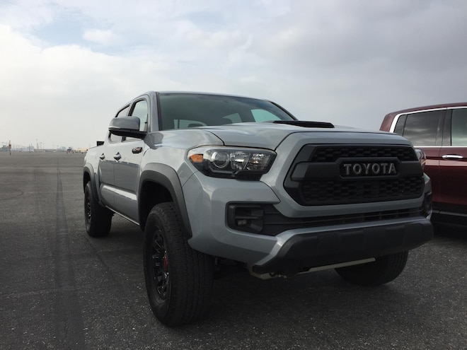 Truck Trend 2017 Pickup Truck Of The Year Toyota Tacoma Trd Pro