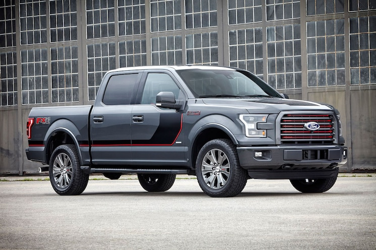 2016 Ford F 150 Lariat Appearance Package Front Right Quarter