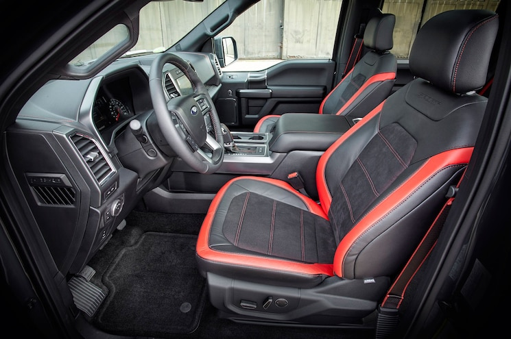2016 Ford F 150 Lariat Appearance Package Interior