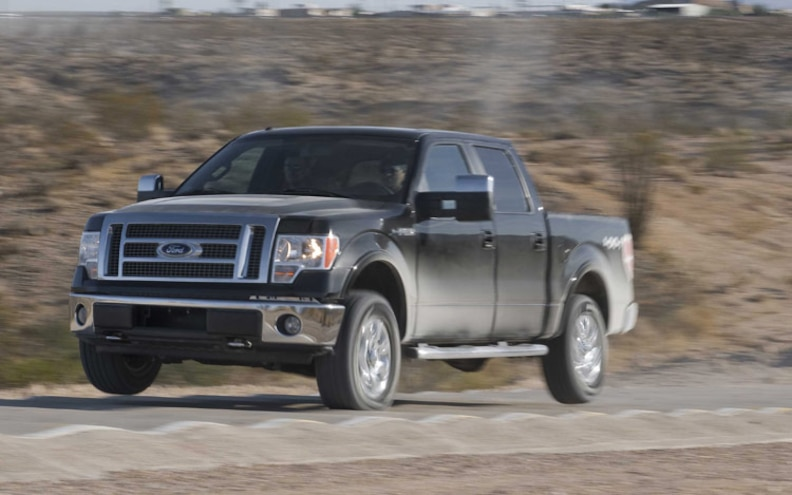 2009 Ford F 150 front Three Quarters View