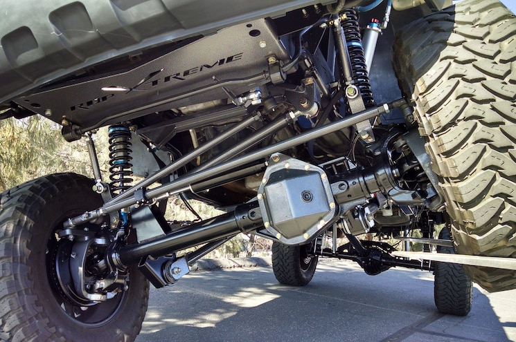 Truck Rdp Xtreme Kit Using Front Dana 60 Axle And Steering Components