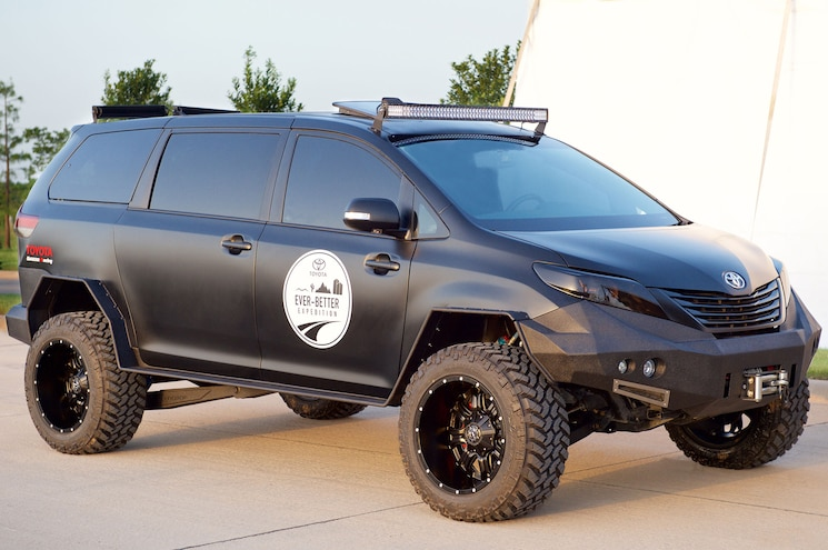 Toyota Teases Us With the UUV, the Coolest Off-Road Sienna, Well, Ever