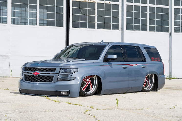 2015 Chevy Tahoe Front Quarter