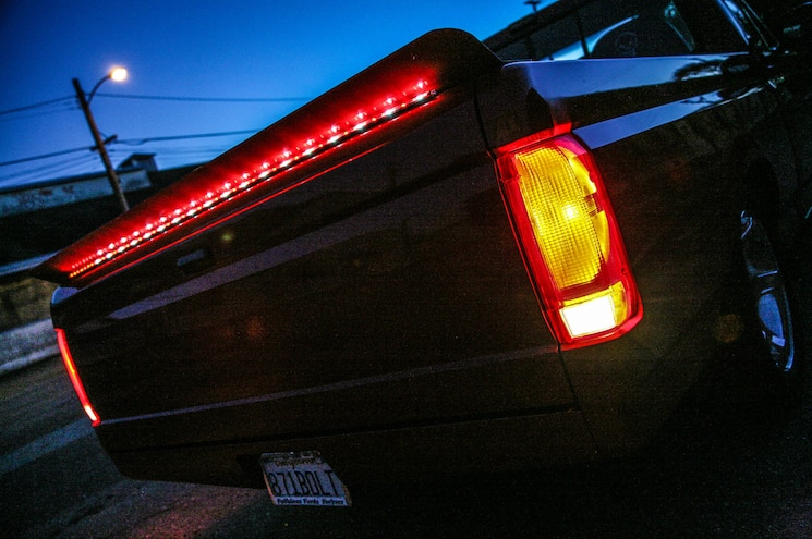 1993 Ford F 150 Lightning Red Truck Lighted Trunk Taillights
