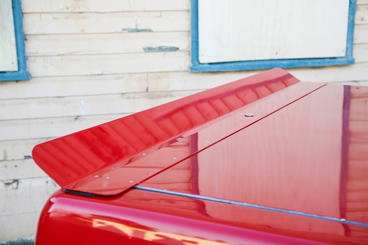 1993 Ford F 150 Lightning Red Truck Trunk Spoiler