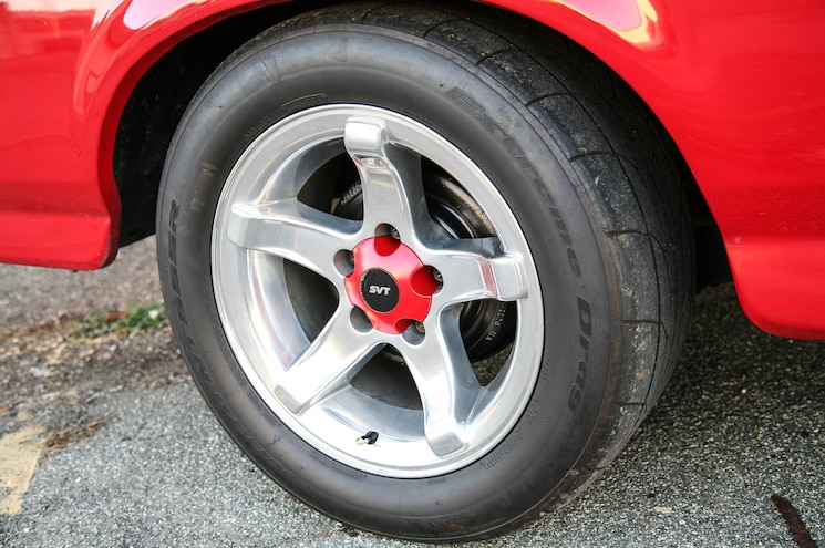 1993 Ford F 150 Lightning Red Truck Wheel