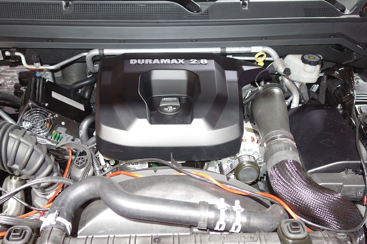 2016 Chevrolet Colorado Duramax Engine Bay