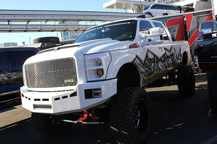 2016 Sema Show Hd Ford Trucks 14