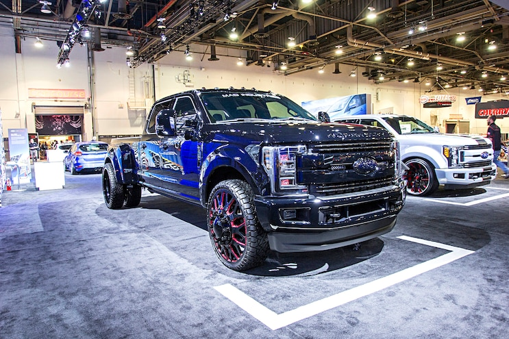 2016 Sema Show 2017 Ford Super Duty Trucks 27