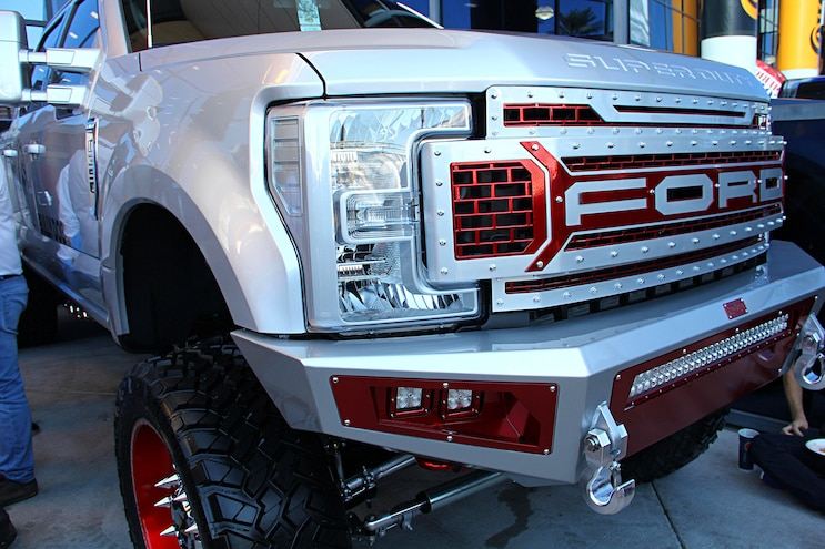 2016 Sema Show 2017 Ford Super Duty Trucks 29
