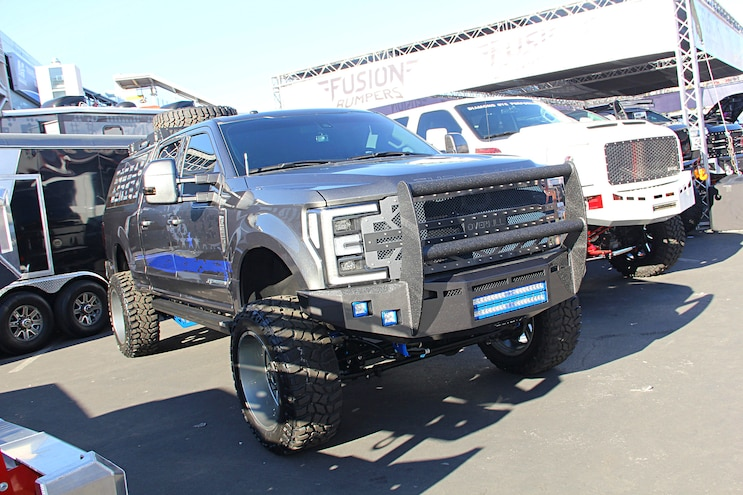 2016 Sema Show 2017 Ford Super Duty Trucks 33